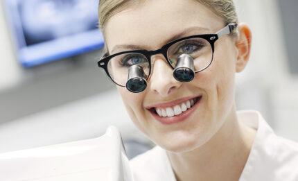 Lupy stomatologiczne oprawki icon