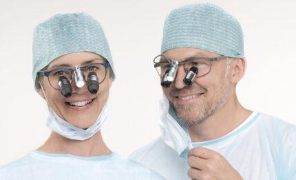 lupy stomatologiczne i medyczne ExamVision